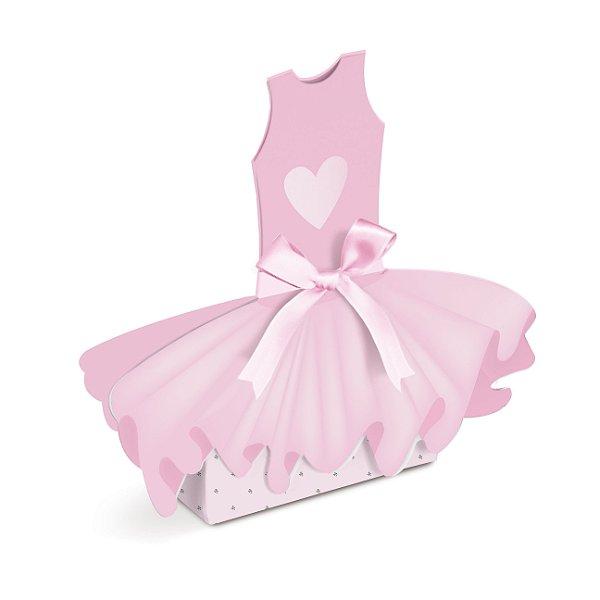 Caixa Vestido Festa Bailarina - 8 unidades - Cromus - Rizzo Festas