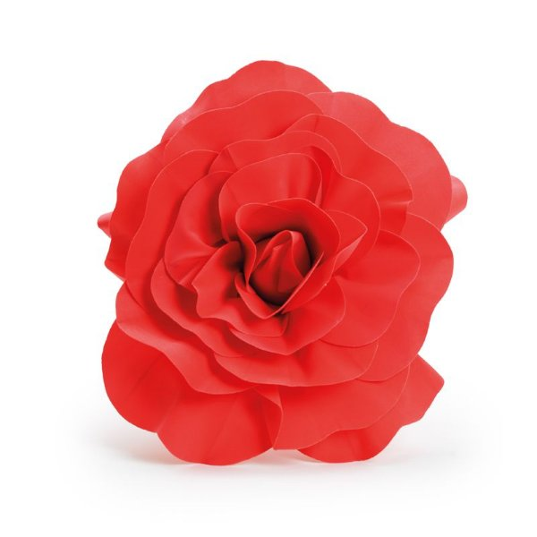 Flor Decorativa Vermelho 40cm - 01 unidade - Cromus - Rizzo Festas