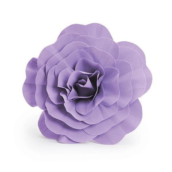 Flor Decorativa Lilás 40cm - 01 unidade - Cromus - Rizzo Festas