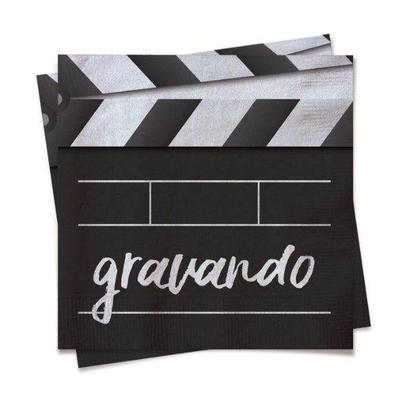 Guardanapo Festa Influencer - 20 unidades - Cromus - Rizzo Festas