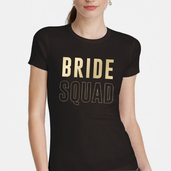 Transfer para Camiseta Festa Despedida de Solteira Bride Squad - Cromus - Rizzo Festas