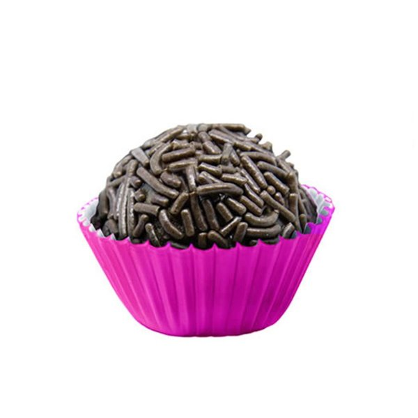 Forminhas para Doces Tradicional N° 4 Pink 100 unidades Mago Rizzo Embalagens
