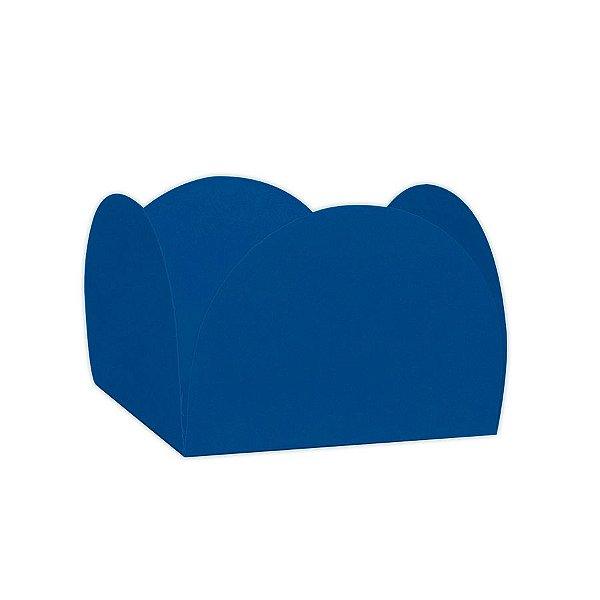 Forminhas para Doces 4 Pétalas Azul 50 unidades NC Toys Rizzo Embalagens