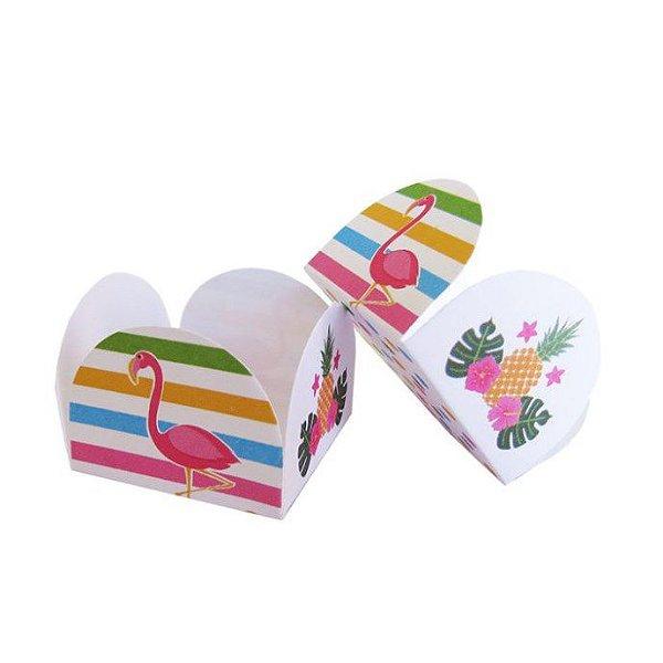 Forminhas para Doces 4 Pétalas Flamingos 50 unidades NC Toys Rizzo Embalagens