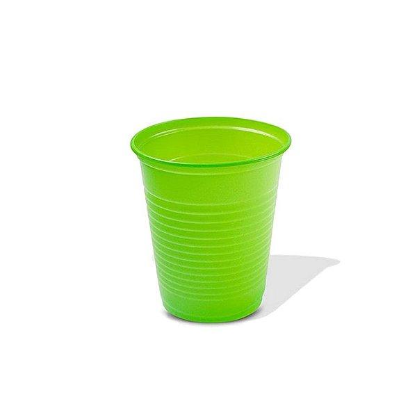 Copo Festa Descartável 200ml Verde Claro 50 unidades Trik Trik Rizzo Embalagens