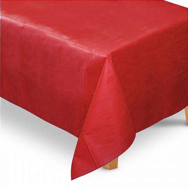 Toalha de Mesa Retangular em TNT (1,40m x 2,20m) Vermelha - Best Fest - Rizzo Embalagens