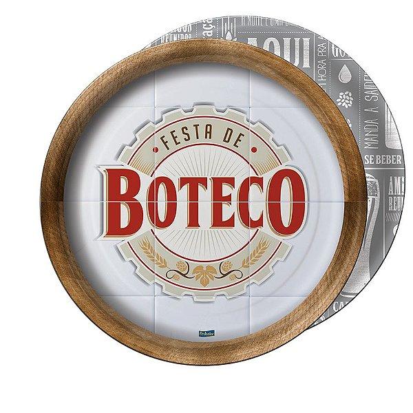 Prato Festa Boteco 18Cm - 8 unidades - Festcolor - Rizzo Festas