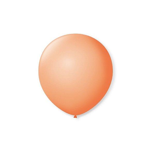 Balão de Festa Latex 5'' 13cm - Pele - 50 unidades - São Roque - Rizzo Festas