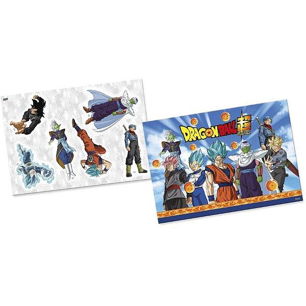 Kit Decorativo Festa Dragon Ball - 6 Itens - Festcolor - Rizzo Festas
