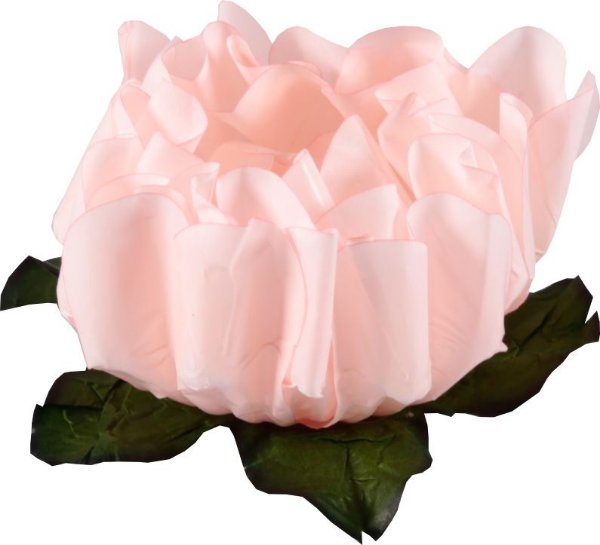 Forminha para Doces Finos - Rosa Maior Chá 40 unidades - Decora Doces - Rizzo Festas