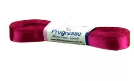 Fita de Cetim Progresso 15mm nº3 - 10m Cor 303 Pink - 01 unidade - Rizzo Embalagens