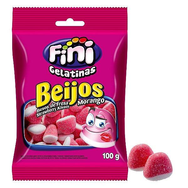 Beijos de Morango 100g - Fini - Rizzo Embalagens