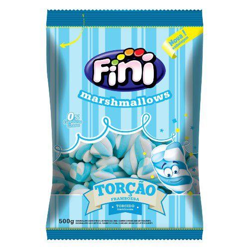 Marshmallow Torcao Azul 500g - Fini - Rizzo Embalagens