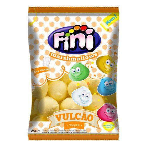 Marshmallow Vulcao Amarelo 250g - Fini - Rizzo Embalagens