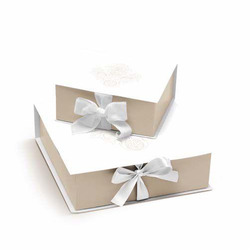 Caixa Rigida Convite Padrinhos G - 01 unidade - Cromus Casamento Classico - Rizzo Festas