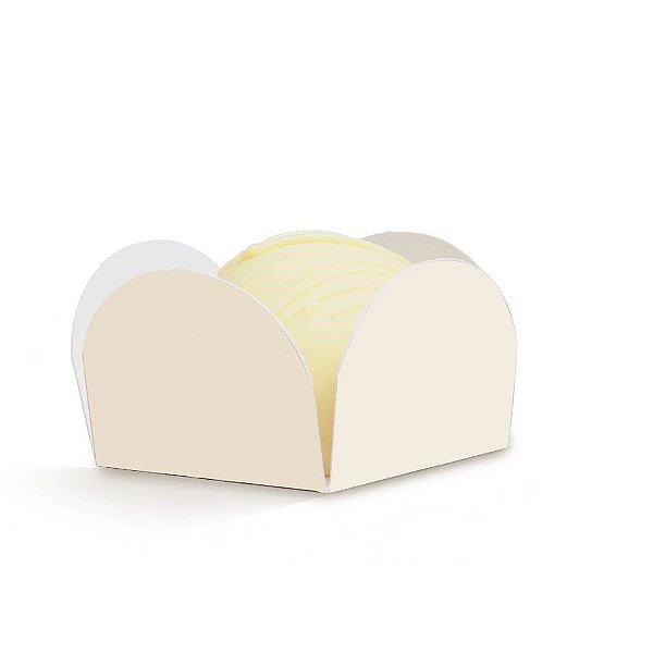 Forminha para Doces Lisa Marfim - 50 unidades - Cromus Casamento Rustico - Rizzo Festas