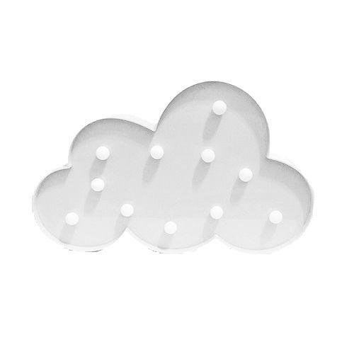 Luminária LED Decoração Festa - nuvem - 01 unidade - Rizzo Festas