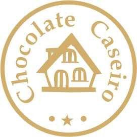 Etiqueta Chocolate Caseiro Casinha - 100 unidades - Massai - Rizzo Embalagens