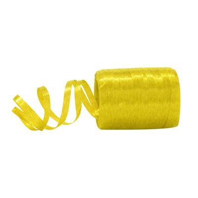 Fitilho Plástico Amarelo - 50 metros - Rizzo Embalagens