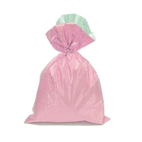 Saco Soft Color Rosa 15x29cm - 40 unidades - Cromus - Rizzo Embalagens