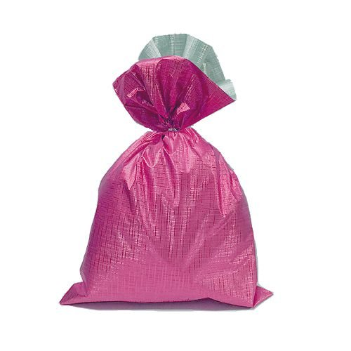 Saco Soft Color Pink 30x44cm - 40 unidades - Cromus - Rizzo Embalagens