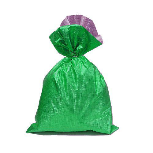 Saco Soft Color Verde 45x59cm - 25 unidades - Cromus - Rizzo Embalagens
