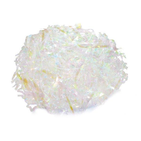 Palha Decorativa Nacarado Misto - 01 pacote 100g - Cromus Páscoa - Rizzo Embalagens