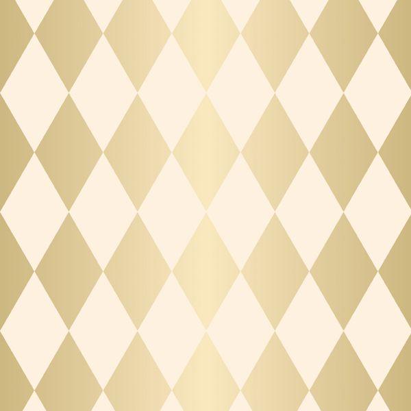 Folha para Ovos de Páscoa Pierrot Ouro Marfim 69x89cm - 05 unidades - Cromus Páscoa - Rizzo Embalagens