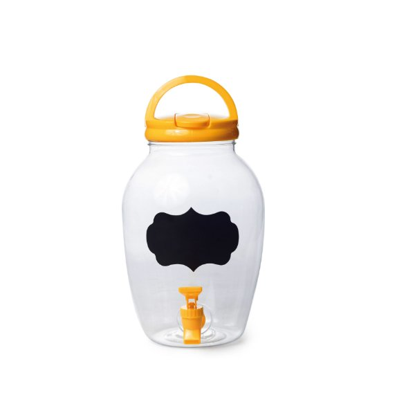 Suqueira de Plástico Amarelo 4400ml - 17,5 x 27,5 - 1 Unidade - Rizzo Embalagens