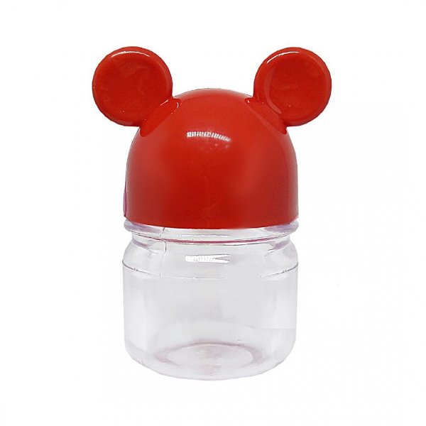 Potinho Festa Mickey Tampa Vermelha 300ml - 6 Unidades - Rizzo Festas