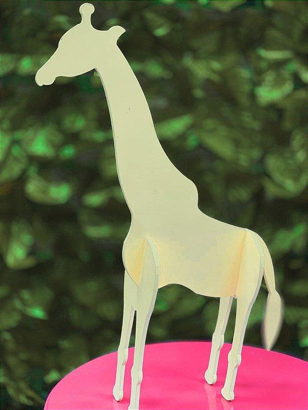 Enfeite de Mesa Girafa Festa Safari - 1 Unidade - Rizzo Festas