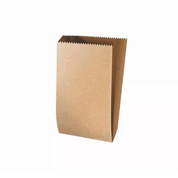 Saquinho de Papel Pardo - 15 x 10 x 3,5cm - 25 unidades - Rizzo Embalagens