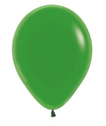 Balão de Festa Latex R12'' 30cm - Verde Cristal - 50 unidades - Sempertex Cromus - Rizzo Festas