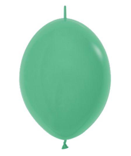 Balão de Festa Latex Link-o-Loon 12'' 29cm - Fashion Verde - 50 unidades - Sempertex Cromus - Rizzo Festas