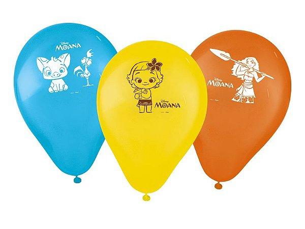 Balão Festa Moana - 25 unidades - Regina - Rizzo Festas