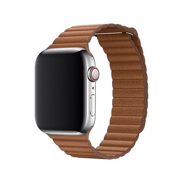 Pulseira Apple Watch Leather - Brown