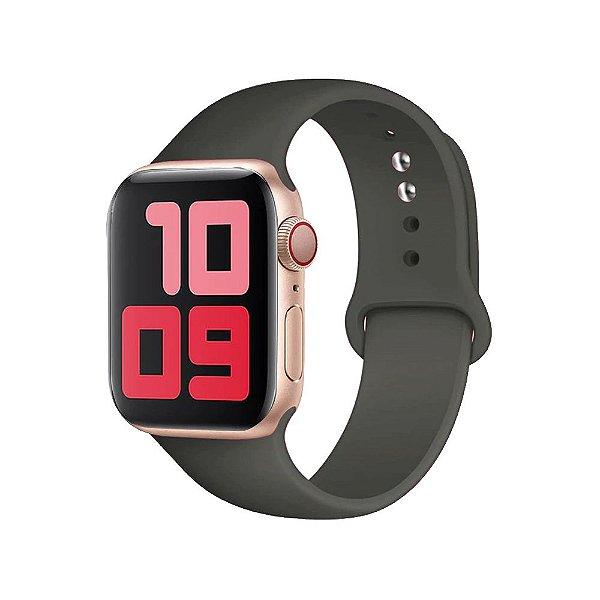 Pulseira Apple Watch Silicone  - Cacau