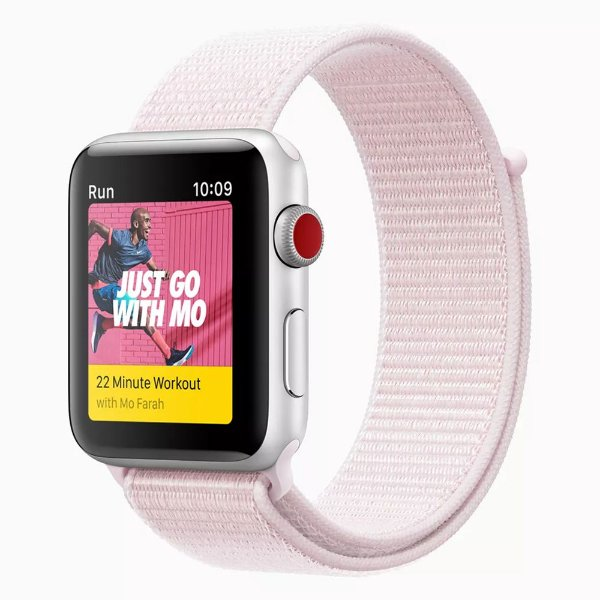 Pulseira Apple Watch Sport Loop - Pear Pink