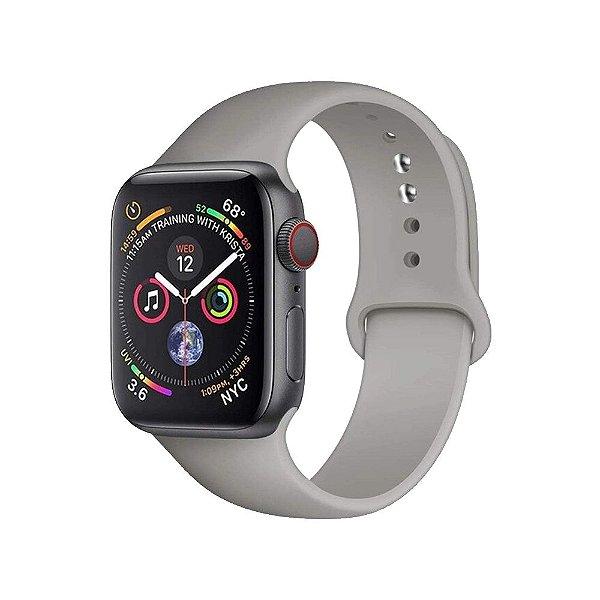 Pulseira Apple Watch Silicone - Névoa