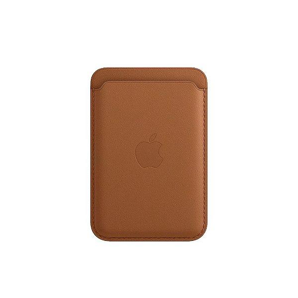 Carteira de couro com MagSafe para iPhone