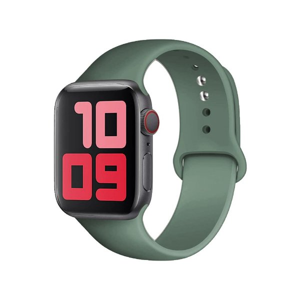 Pulseira Apple Watch Silicone - Pinho Verde