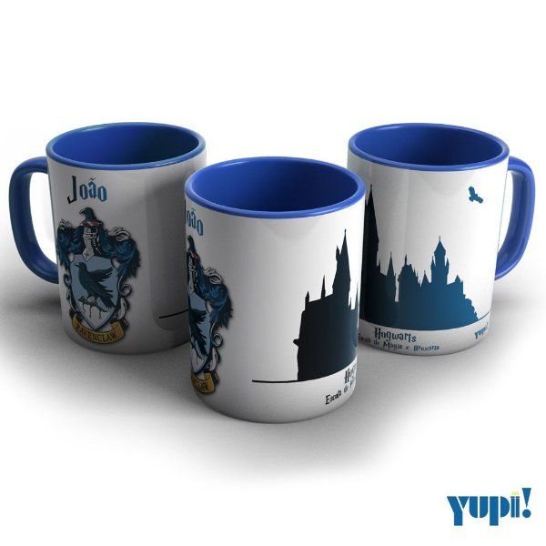 Caneca Harry Potter - CORVINAL ROGWARTS - 325ml