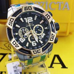 22b2b8ae0de Relógio Invicta Pro Diver 25856 Original Prata C  Preto - LEVA E ...