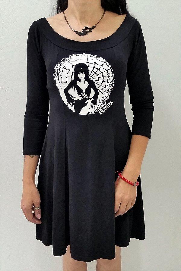 Vestido Elvira Mangas Compridas