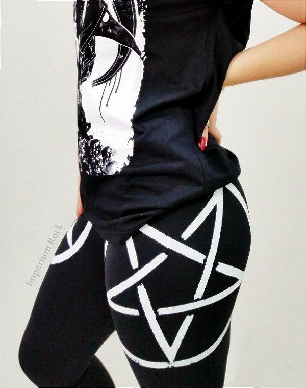 Calça Legging Pentagrama