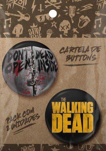 KIT BOTONS THE WALKING DEAD PACK 090 (196/197)