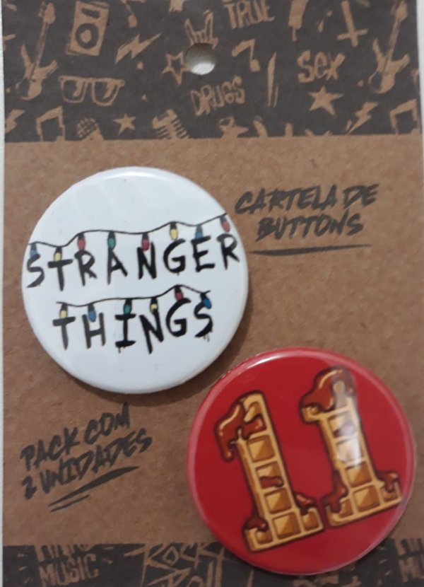 KIT BOTONS STRANGER THINGS PACK 079 - (188/189)
