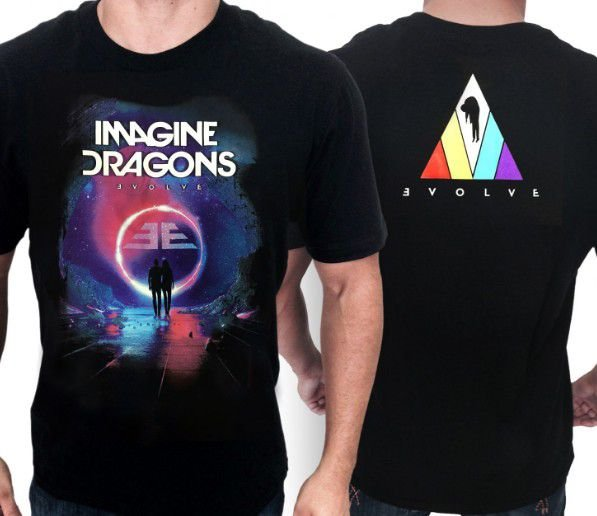 CAMISA IMAGINE DRAGONS E1387