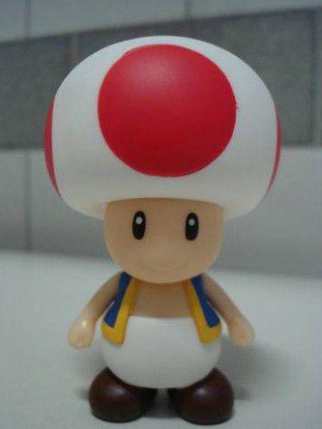 Boneco Toad - Super Mario Bros Figure Collection