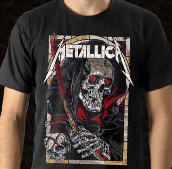 Camisa Metallica - Morte
